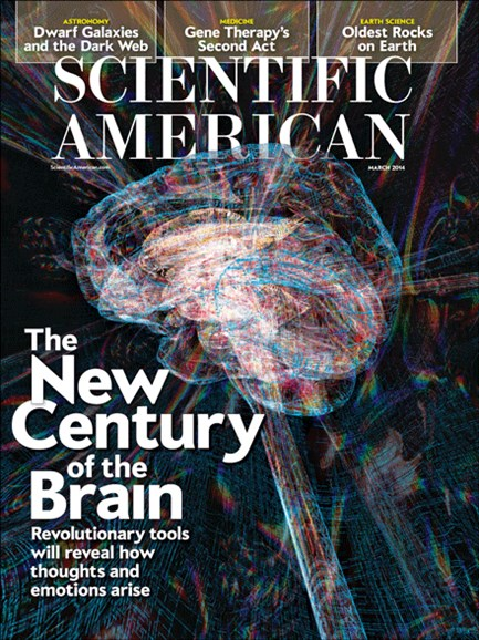 Scientific American Cover - 3/1/2014