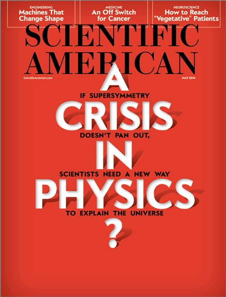 Scientific American Cover - 5/1/2014