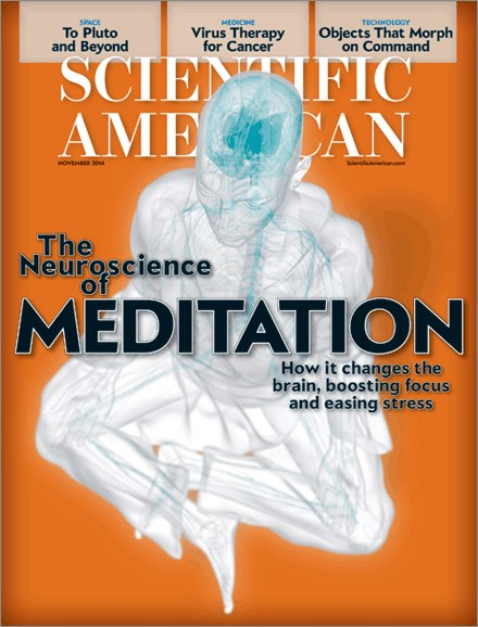 Scientific American Cover - 11/1/2014
