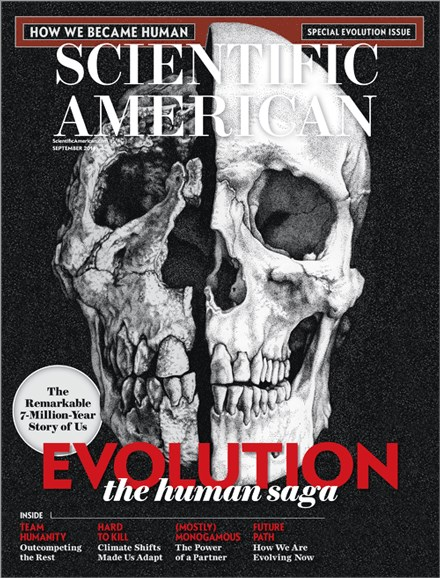 Scientific American Cover - 9/1/2014