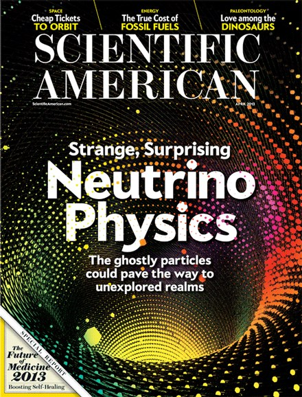 Scientific American Cover - 4/1/2013