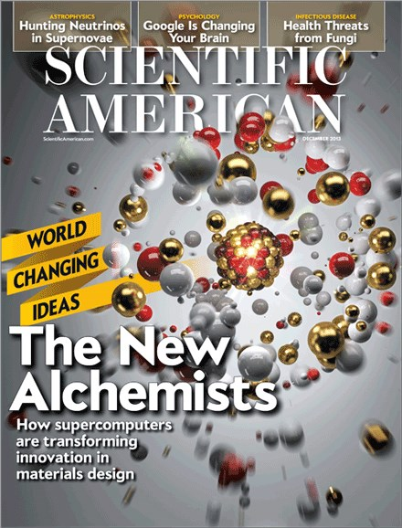 Scientific American Cover - 12/1/2013