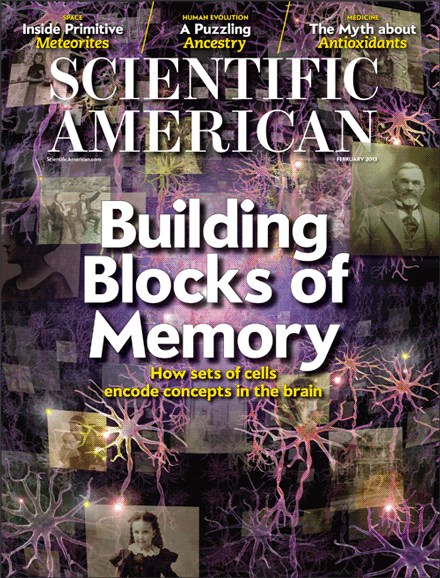Scientific American Cover - 2/1/2013