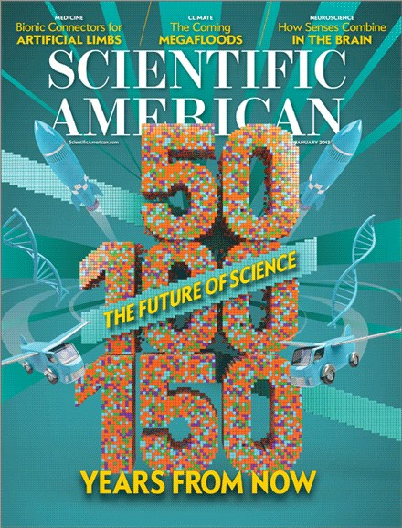 Scientific American Cover - 1/1/2013