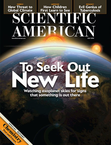 Scientific American Cover - 7/1/2013