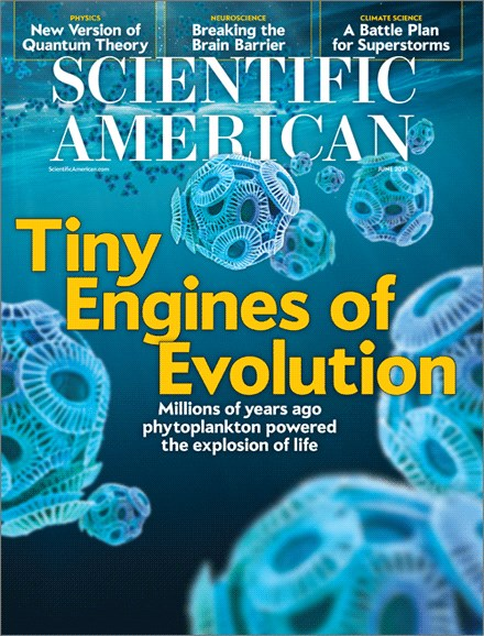 Scientific American Cover - 6/1/2013