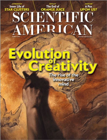 Scientific American Cover - 3/1/2013
