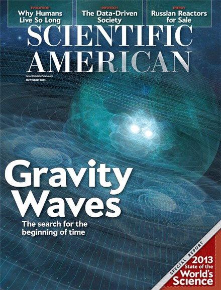 Scientific American Cover - 10/1/2013
