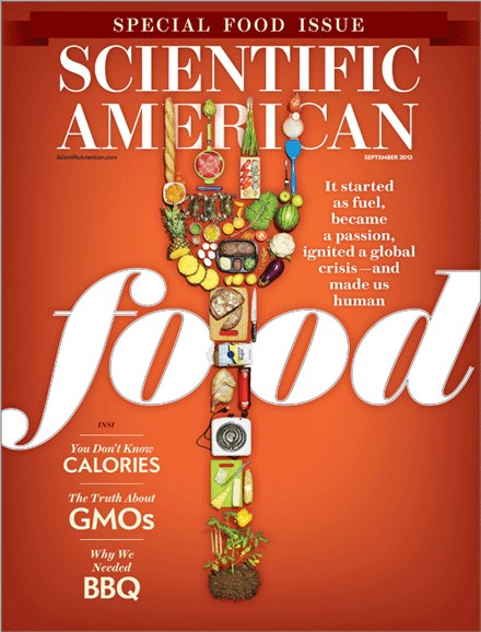 Scientific American Cover - 9/1/2013