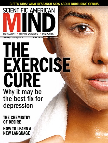 Scientific American Mind Cover - 1/1/2017