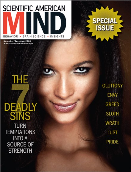 Scientific American Mind Cover - 11/1/2013