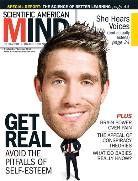 Scientific American Mind Cover - 9/1/2013
