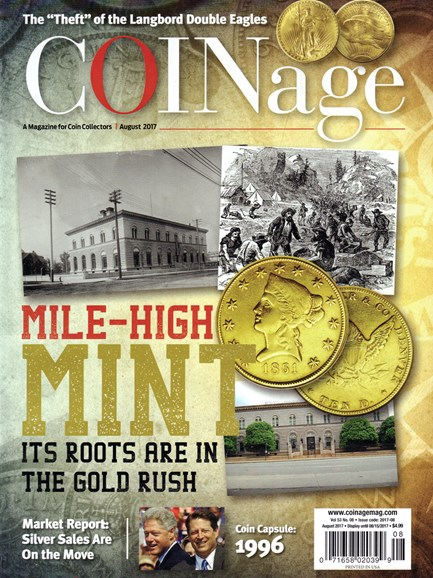 Coinage Cover - 8/1/2017