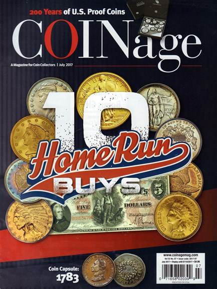 Coinage Cover - 7/1/2017