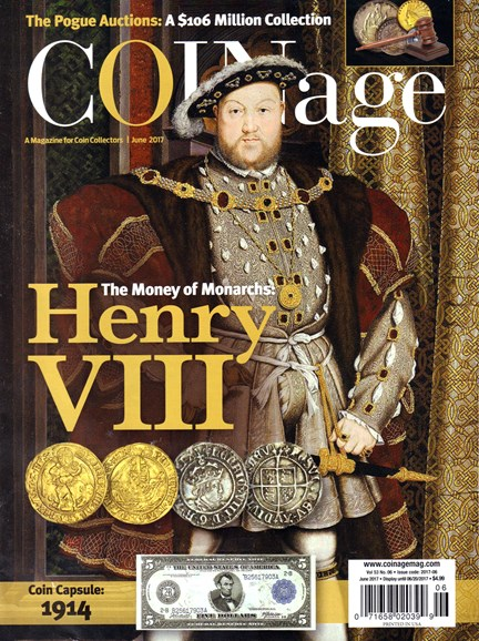 Coinage Cover - 6/1/2017