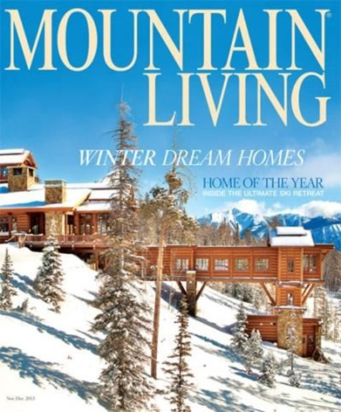 Mountain Living Cover - 11/1/2013