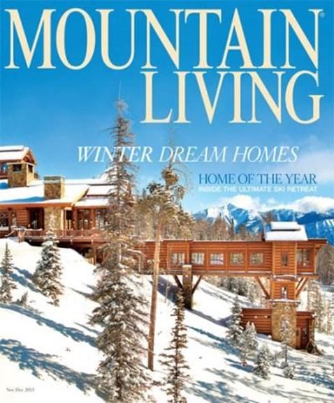 Mountain Living Cover - 11/1/2013