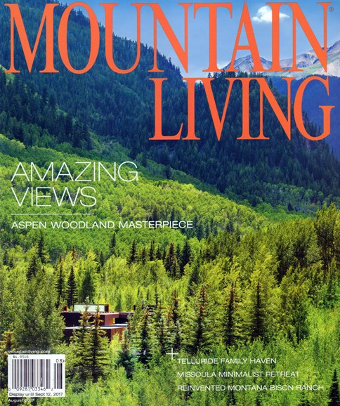 Mountain Living Cover - 8/1/2017