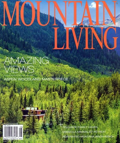 Mountain Living Cover - 8/1/2017