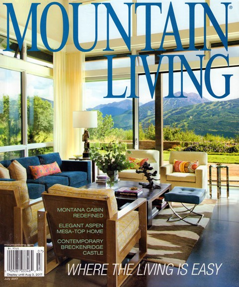 Mountain Living Cover - 7/1/2017