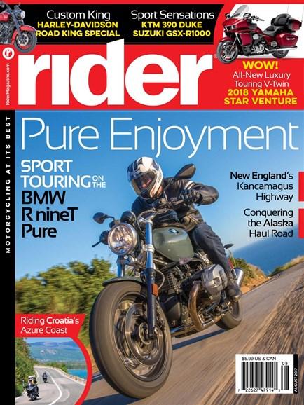Rider Cover - 8/1/2017