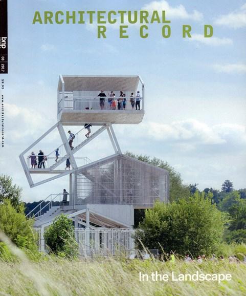 Architectural Record Cover - 8/1/2017