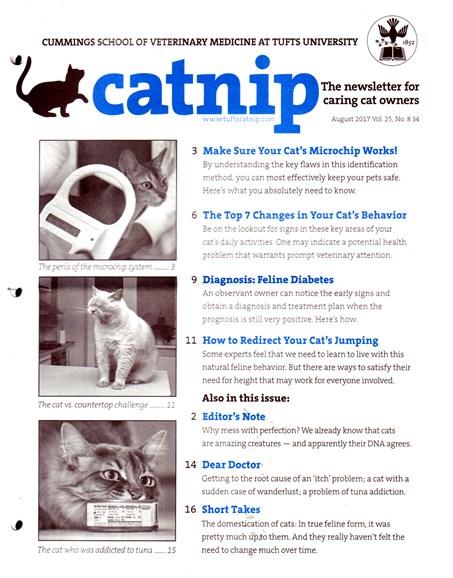 Catnip Cover - 8/1/2017