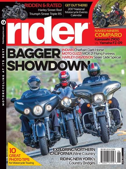 Rider Cover - 6/1/2017