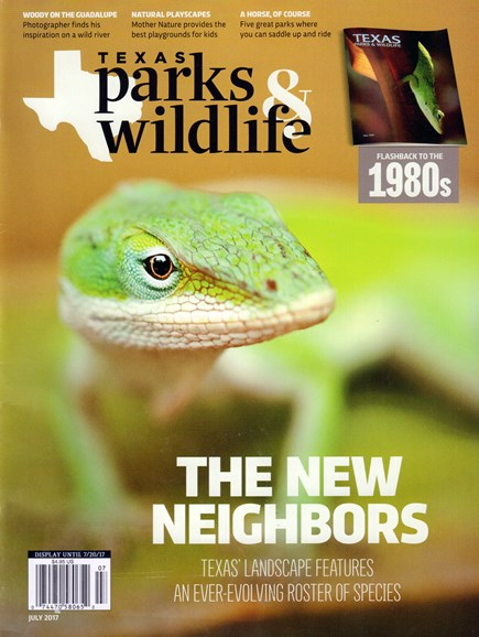 Texas Parks & Wildlife Cover - 7/1/2017