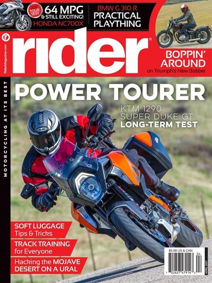 Rider Cover - 4/1/2017