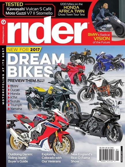 Rider Cover - 1/1/2017