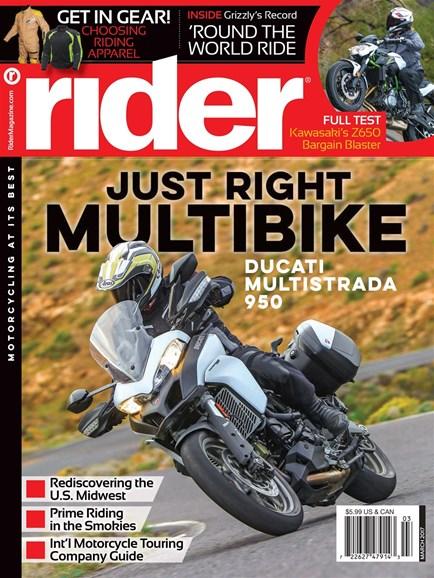 Rider Cover - 3/1/2017