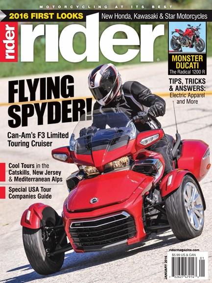 Rider Cover - 1/1/2016