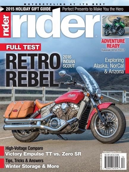 Rider Cover - 12/1/2015