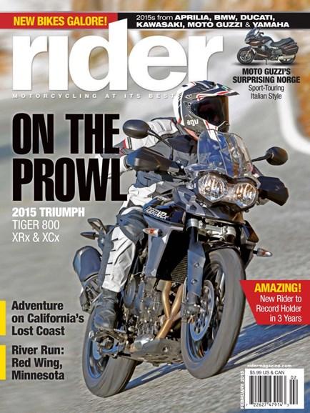 Rider Cover - 2/1/2015