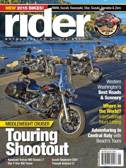 Rider Cover - 1/1/2015