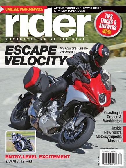 Rider Cover - 7/1/2015