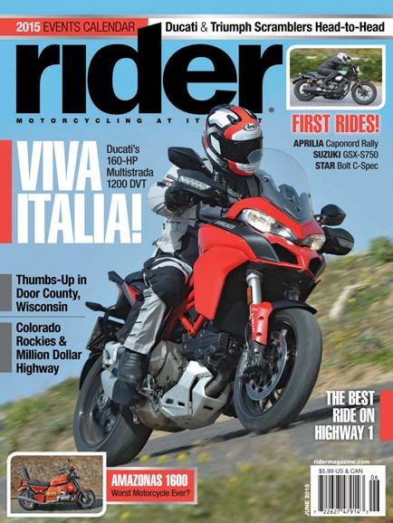 Rider Cover - 6/1/2015