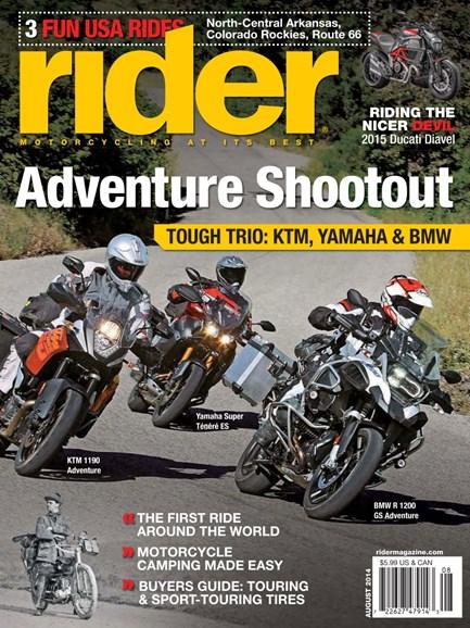 Rider Cover - 8/1/2014