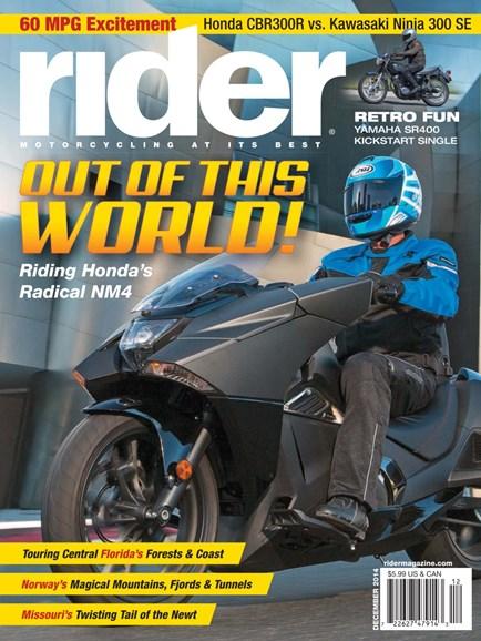 Rider Cover - 12/1/2014