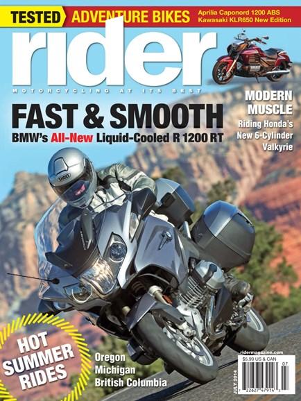 Rider Cover - 7/1/2014