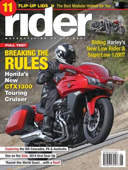 Rider Cover - 6/1/2014