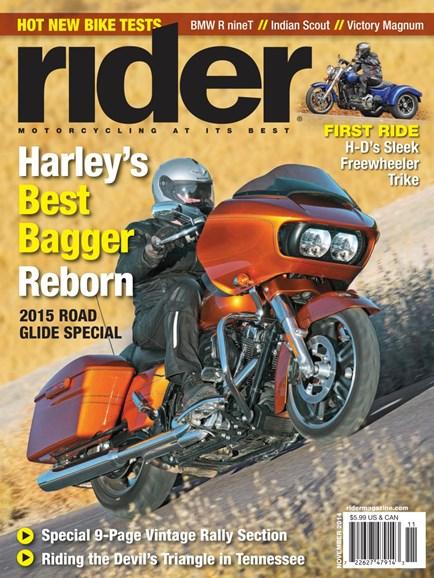 Rider Cover - 11/1/2014