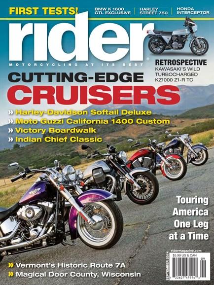 Rider Cover - 9/1/2014