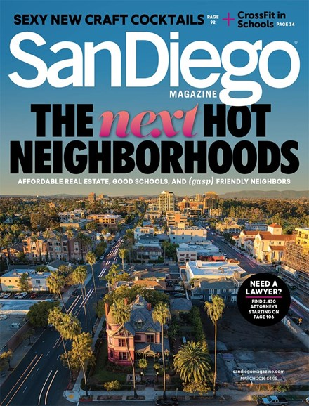 San Diego Cover - 3/1/2016