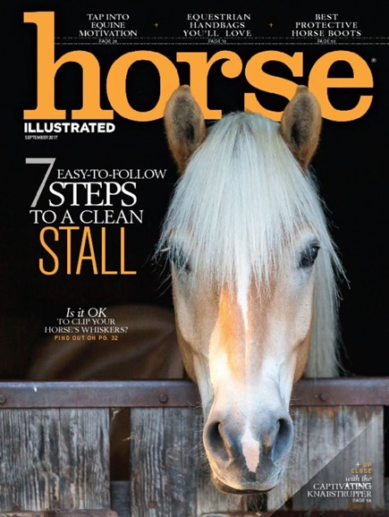 Horse Illustrated Cover - 9/1/2017