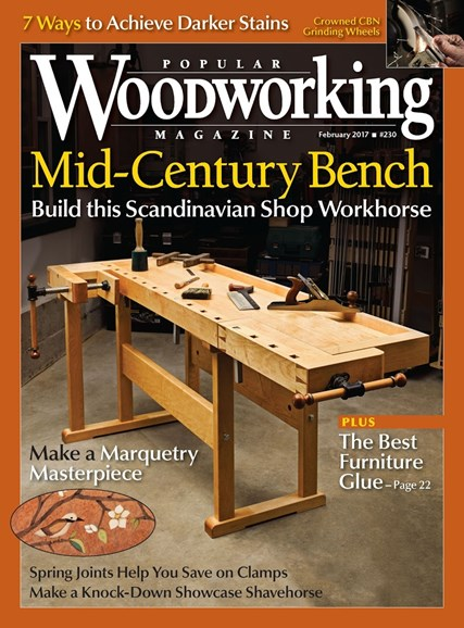 Popular Woodworking Cover - 1/1/2017