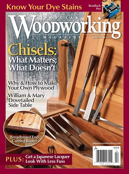 Popular Woodworking Cover - 3/1/2017