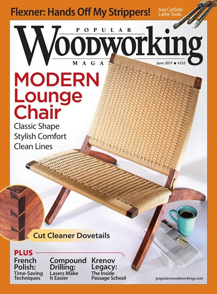Popular Woodworking Cover - 5/1/2017