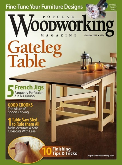 Popular Woodworking Cover - 9/1/2017